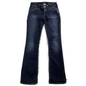 Silver Frankie Jeans Bootcut Denim Dark Wash